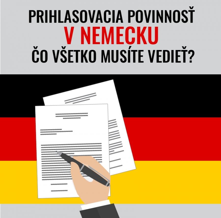 Prihlasovacia povinnosť v Nemecku: Čo všetko musíte vedieť?