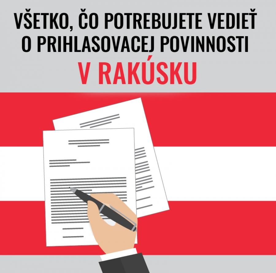 Všetko, čo potrebujete vedieť o prihlasovacej povinnosti v Rakúsku