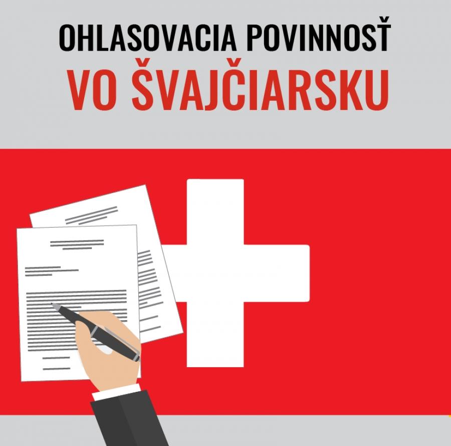 Ohlasovacia povinnosť vo Švajčiarsku