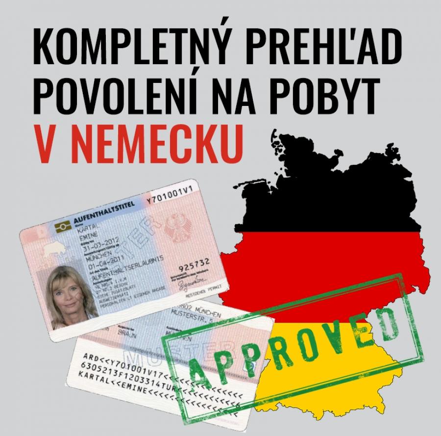 Kompletný prehľad povolení na pobyt v Nemecku