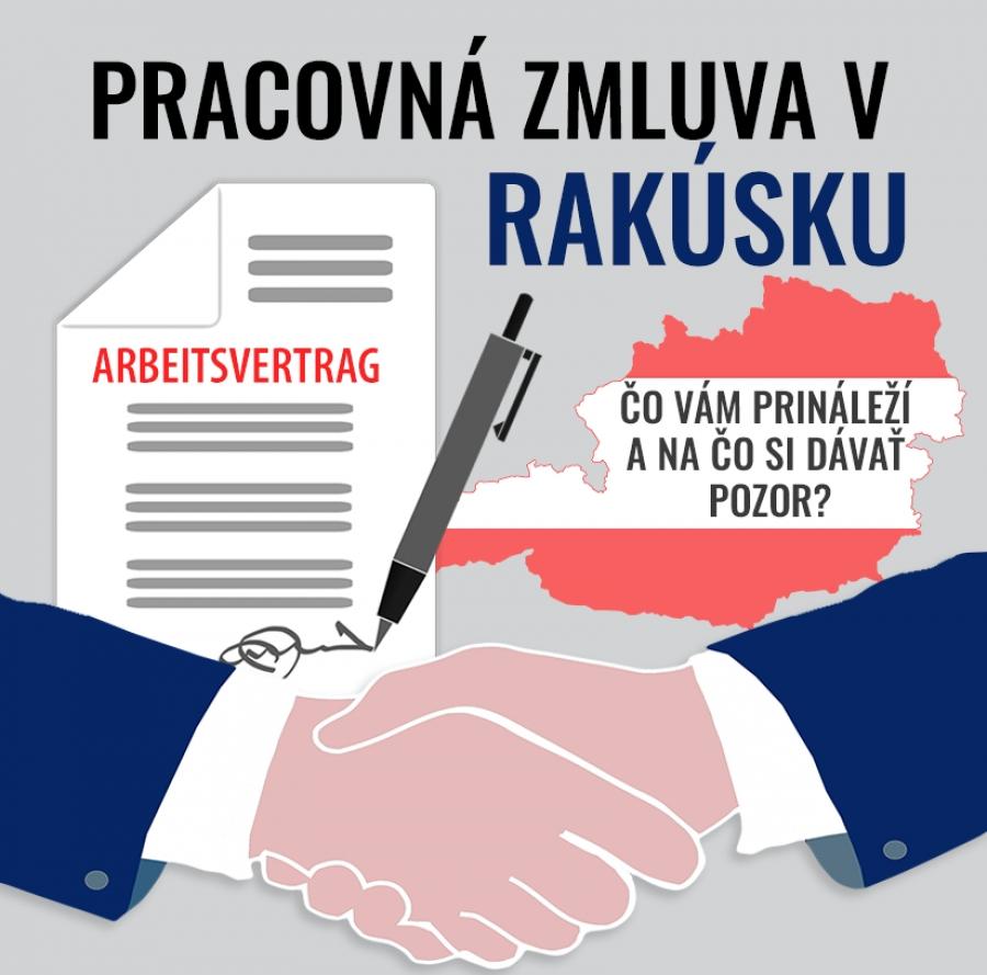 Pracovná zmluva v Rakúsku. Čo vám prináleží a na čo si dávať pozor?