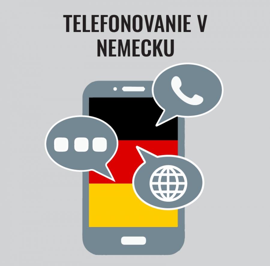 Telefonovanie v Nemecku