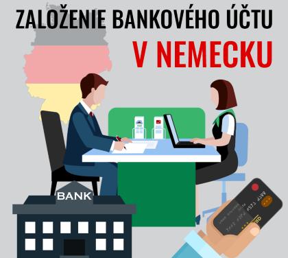 Založenie bankového účtu v Nemecku