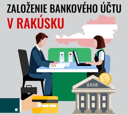 Založenie bankového účtu v Rakúsku
