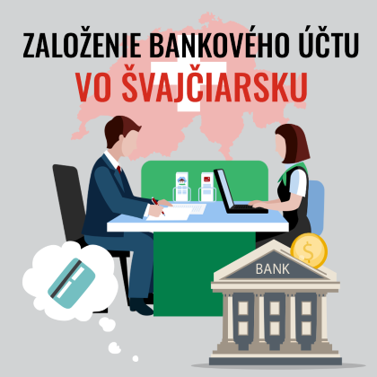 Založenie bankového účtu vo Švajčiarsku