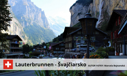 Lauterbrunnen – Švajčiarsko
