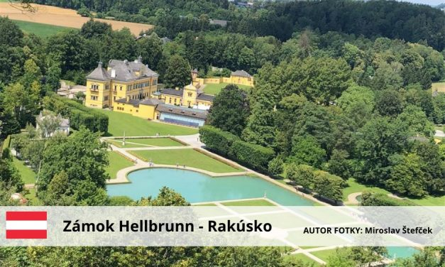 Zámok Hellbrunn – Rakúsko