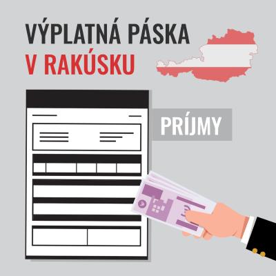 Výplatná páska v Rakúsku – PRÍJMY