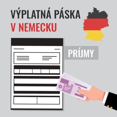Výplatná páska v Nemecku – PRÍJMY