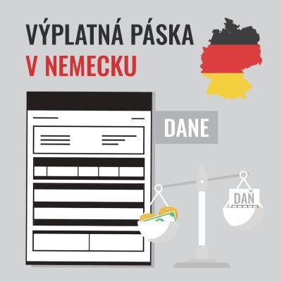 Výplatná páska v Nemecku – DANE