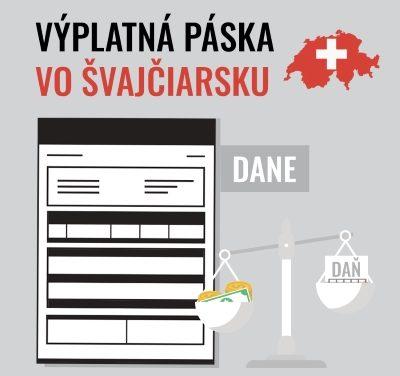 Výplatná páska vo Švajčiarsku – DANE